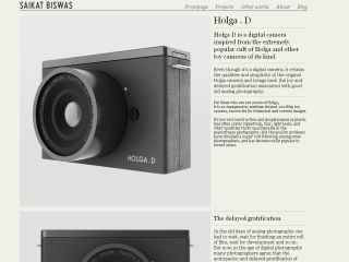 Holga D Digital camera concept