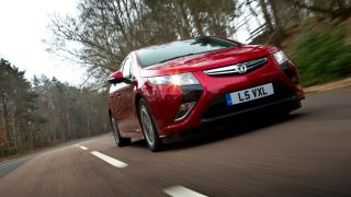 New Vauxhall Ampera boats eco-electric car tech excellence