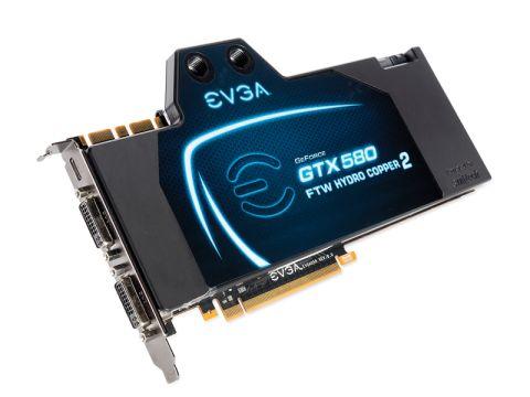 EVGA GTX 580 Hydro Copper 2