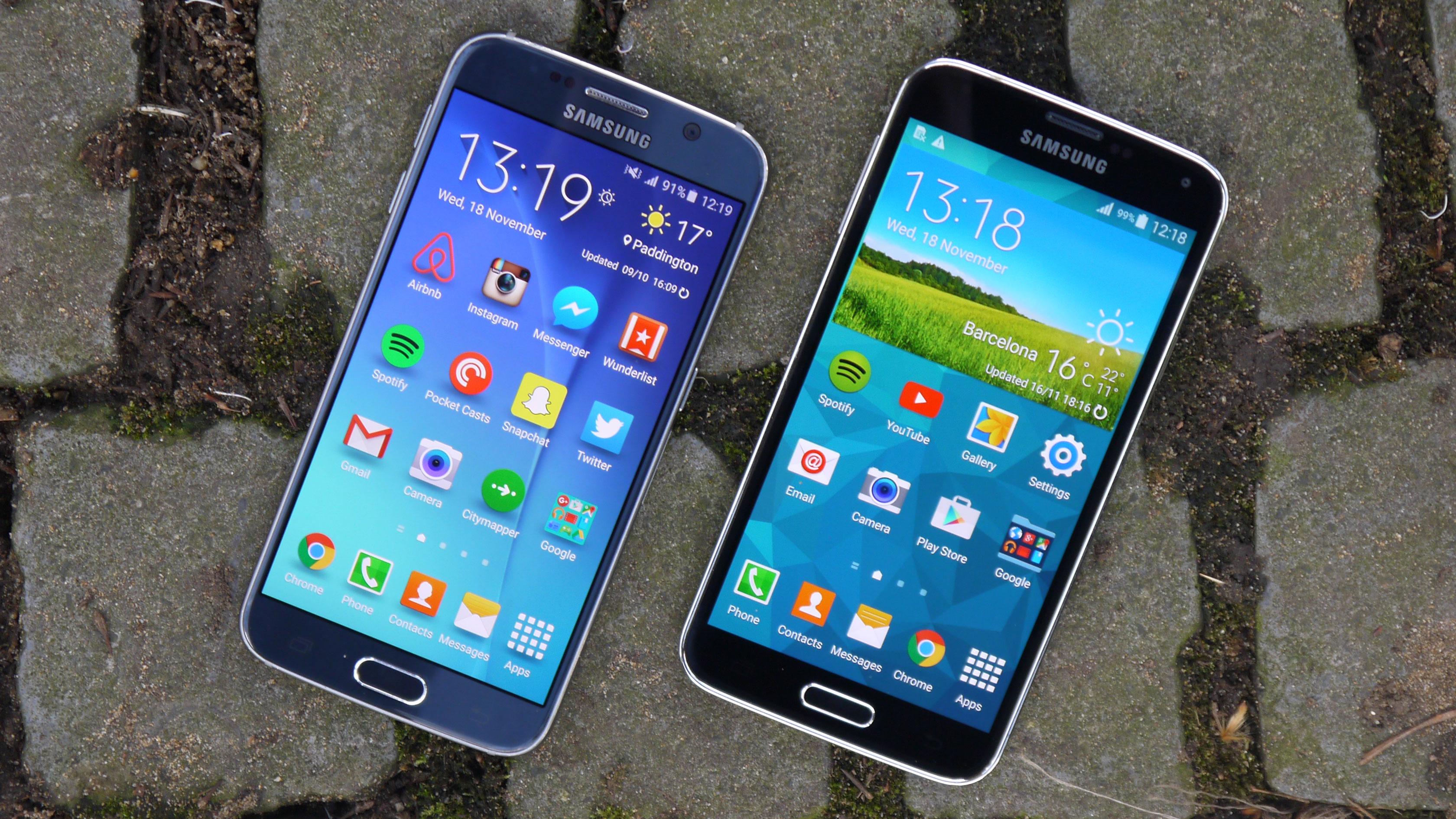 Samsung Galaxy S6 Vs Samsung Galaxy S5 Techradar