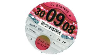Tax disc spins away into history