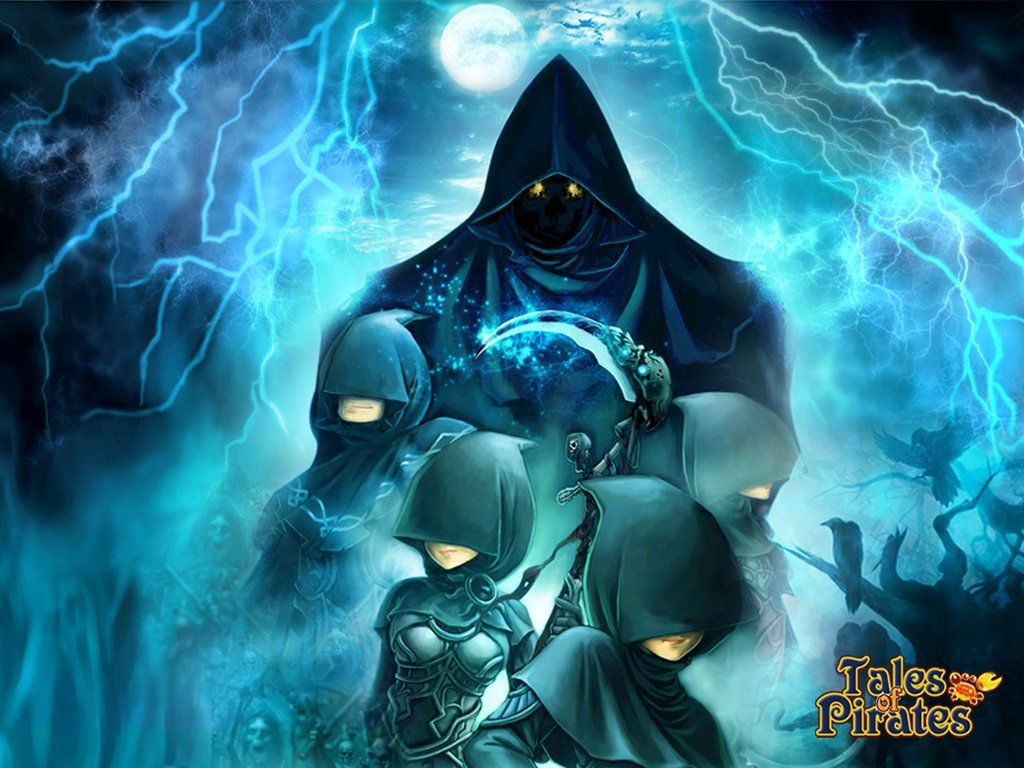 IGG Releases Tales Of Pirates Halloween Wallpapers  #10076