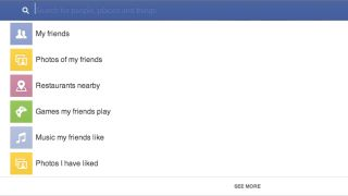 Facebook Graph Search is filter-friendly Facebook search