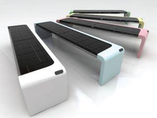 Owen Song's Solar Inside Wi-Fi park bench
