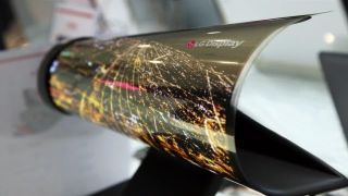 LG shows off extreme curvature on a display