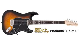 This Fret-King Corona 70 is one of the Fluence-equipped options on the way