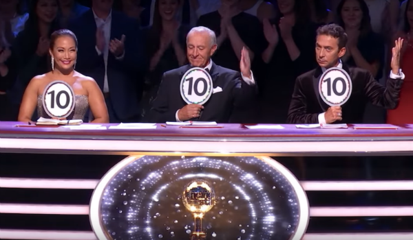Dancing with the Stars Carrie Ann Inaba Len Goodman Bruno Tonioli ABC
