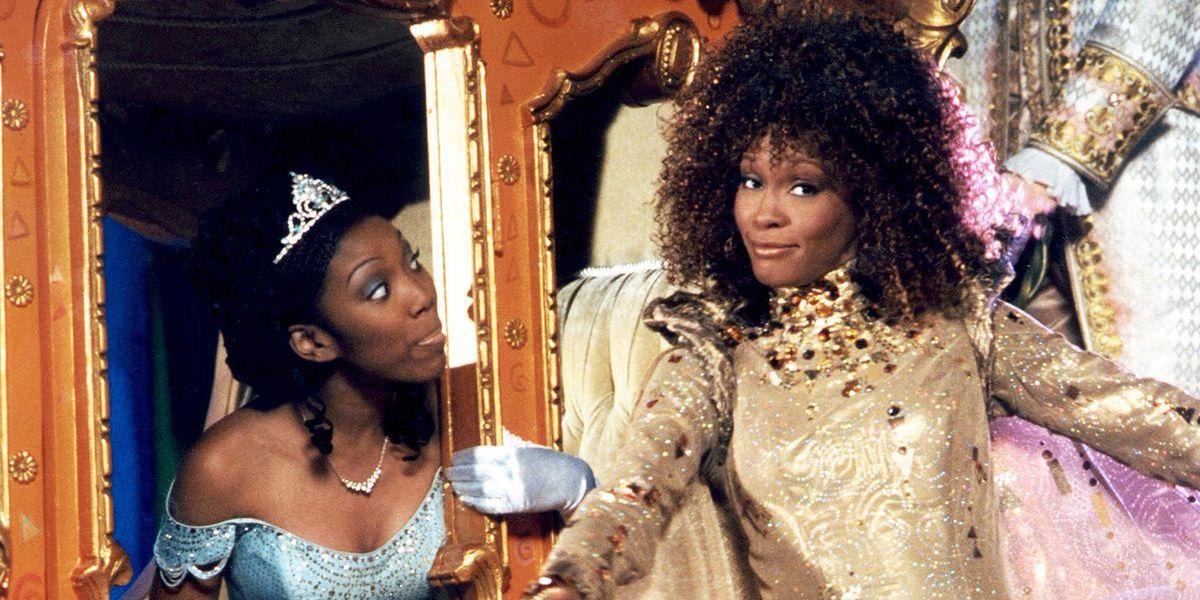 Brandy and Whitney Houston in Cinderella