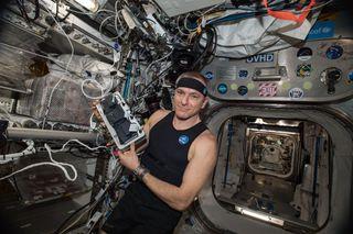 David Saint-Jacques on ISS