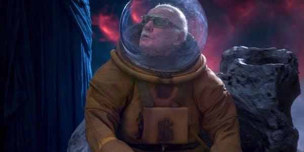 Stan Lee in Guardians 2