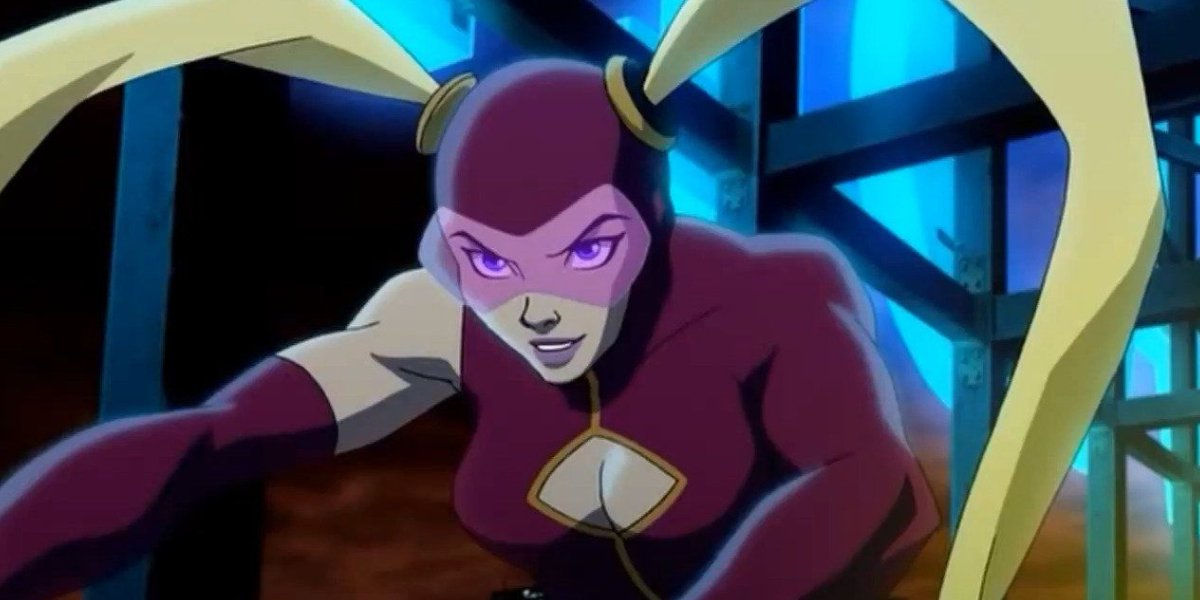 Hynden Walch as Yo-Yo in Justice League: The Flaspoint Paradox