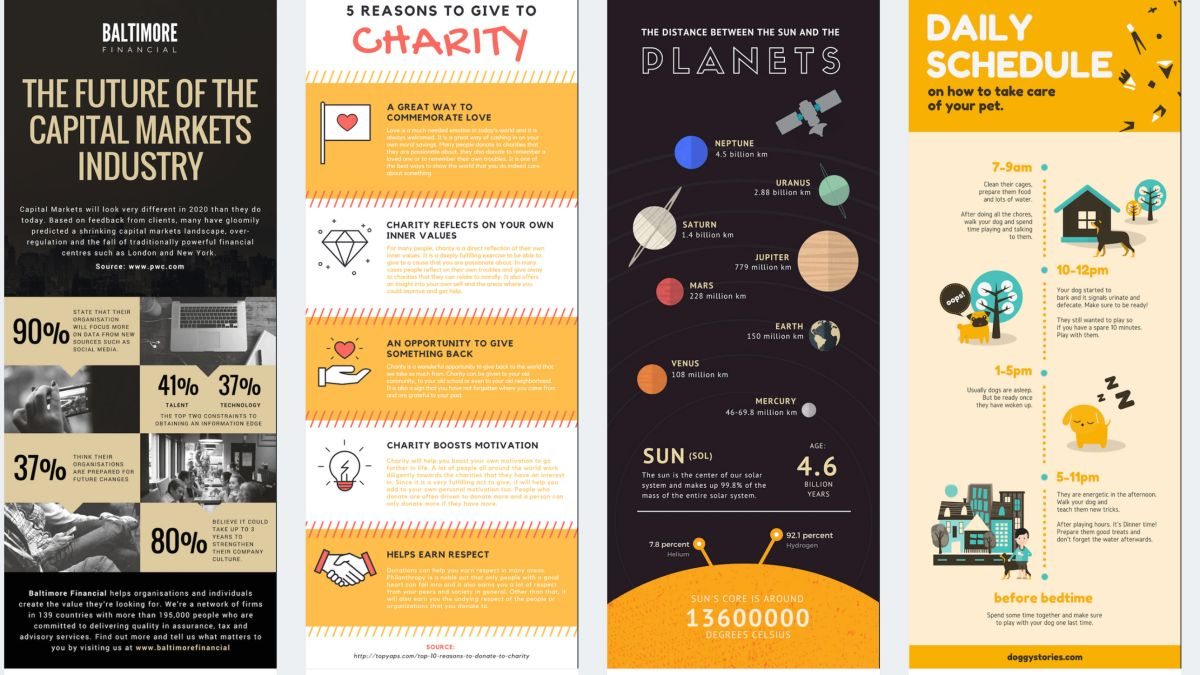 17 incredible tools for creating infographics | Creative Bloq