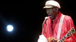 Chuck Berry, living legend.