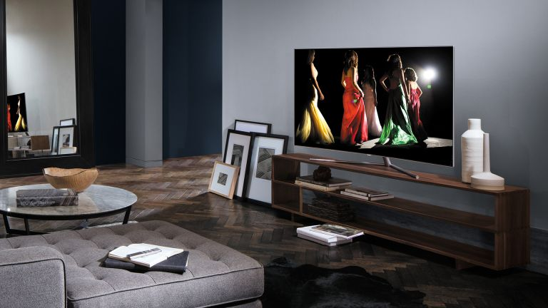The best 60 inch TV: television in contemporary living room
