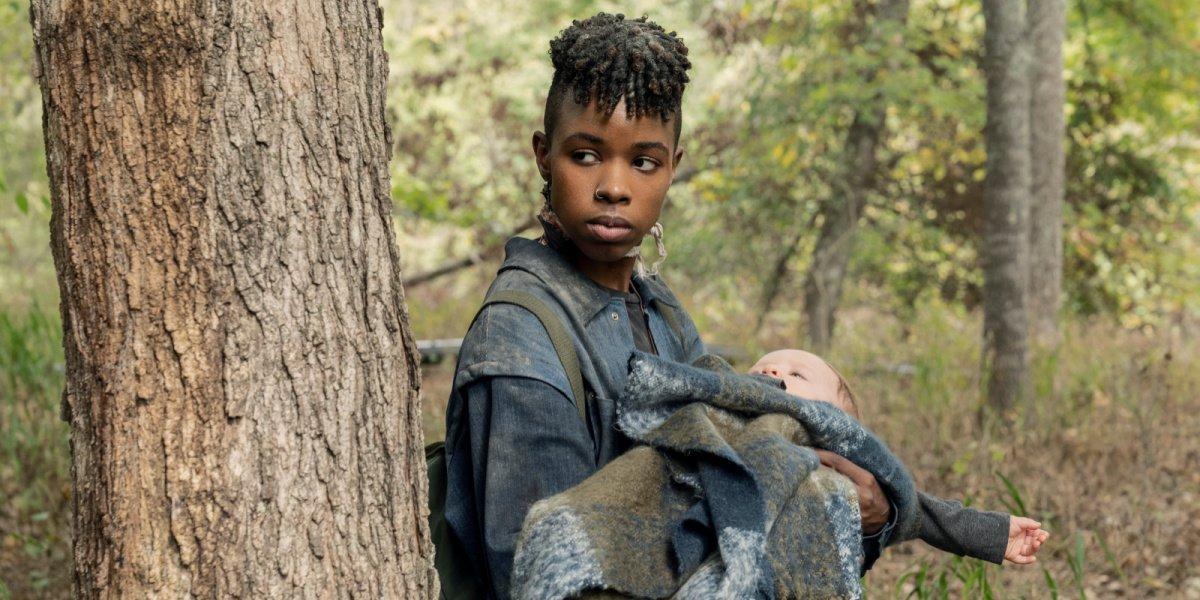 Kelly in The Walking Dead.
