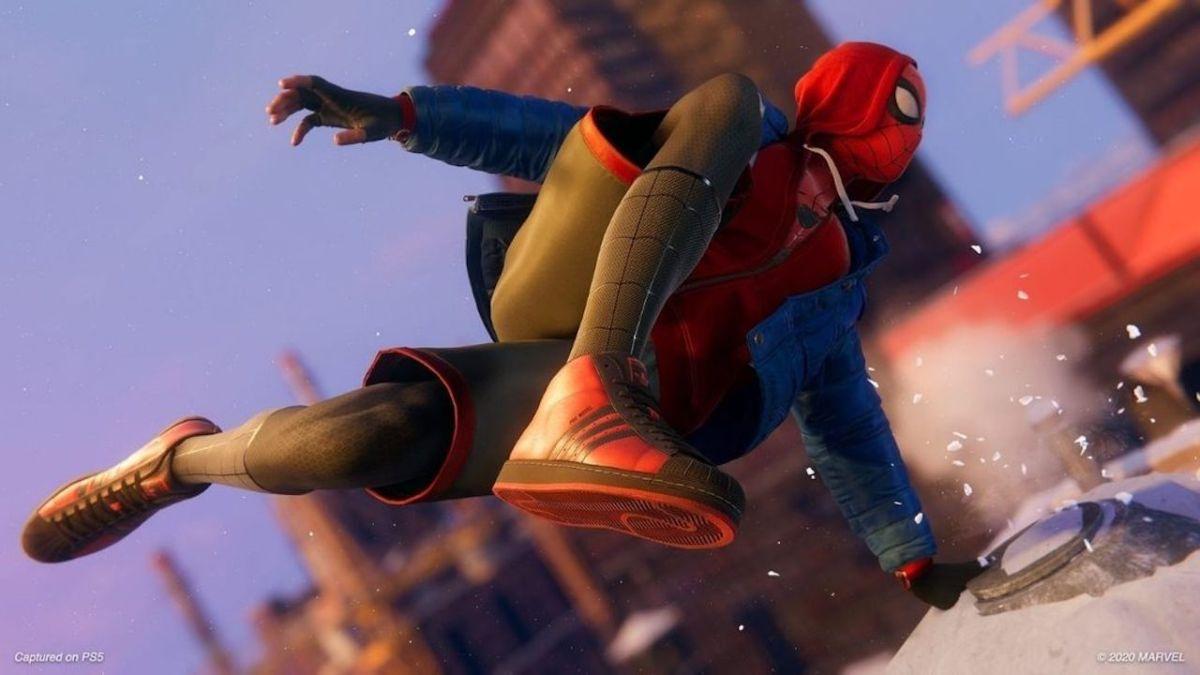 Spider-Man: Miles Morales has custom-made Adidas shoes   GamesRadar