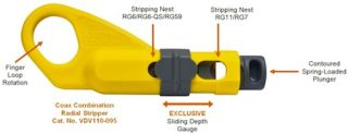 Klein Tools Introduces Coax Radial Stripper