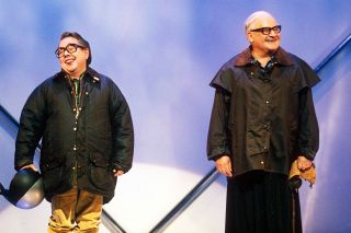 TV tonight Ronnie Corbett and Ronnie Barker on The Two Ronnies: Ronnie Corbett's Lost Tapes