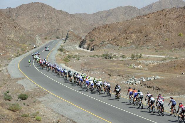 Scenery, Tour of Oman 2012, stage three