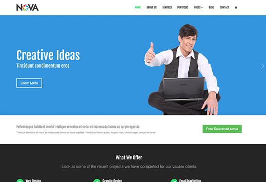 88b3ba22f0853a53899cba793ca69d15 12 great free Bootstrap themes - SEO