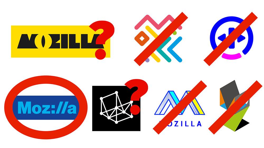Logo design: Mozilla