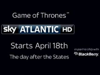 Game of Thrones coming soon