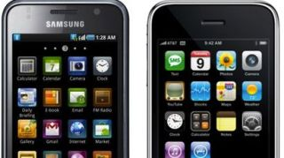 Apple, Samsung icons