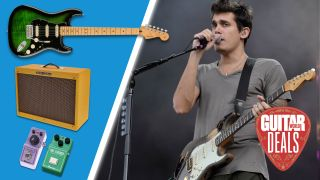Can we nail the John Mayer sound with only gear on sale this Prime Day?
