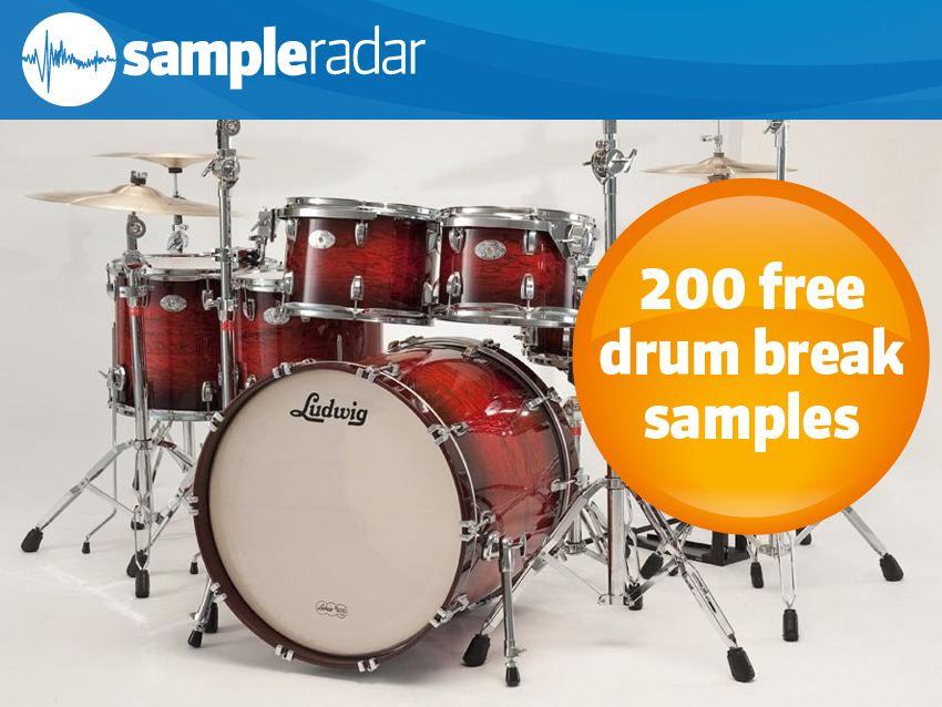 SampleRadar: 200 free drum break samples | MusicRadar