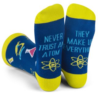 nerdy atom socks