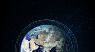 OneWeb Network of Satellites