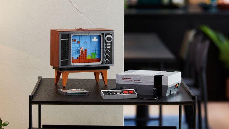 Lego Nintendo Entertainment System NES set