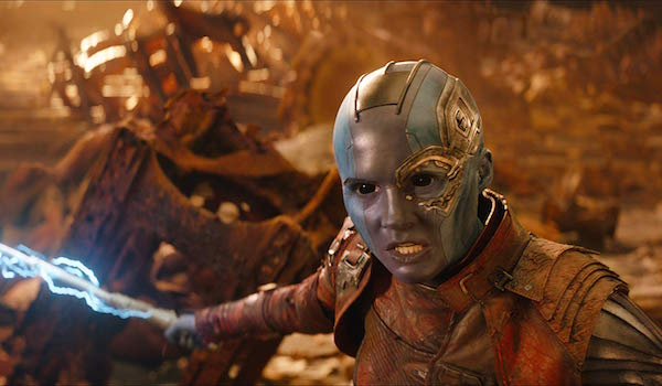 Nebula in Avengers: Infinity War