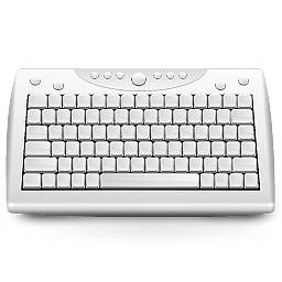 keysonic 2 4ghz wireless compact keyboard with integrated touchpad itproportal. Black Bedroom Furniture Sets. Home Design Ideas