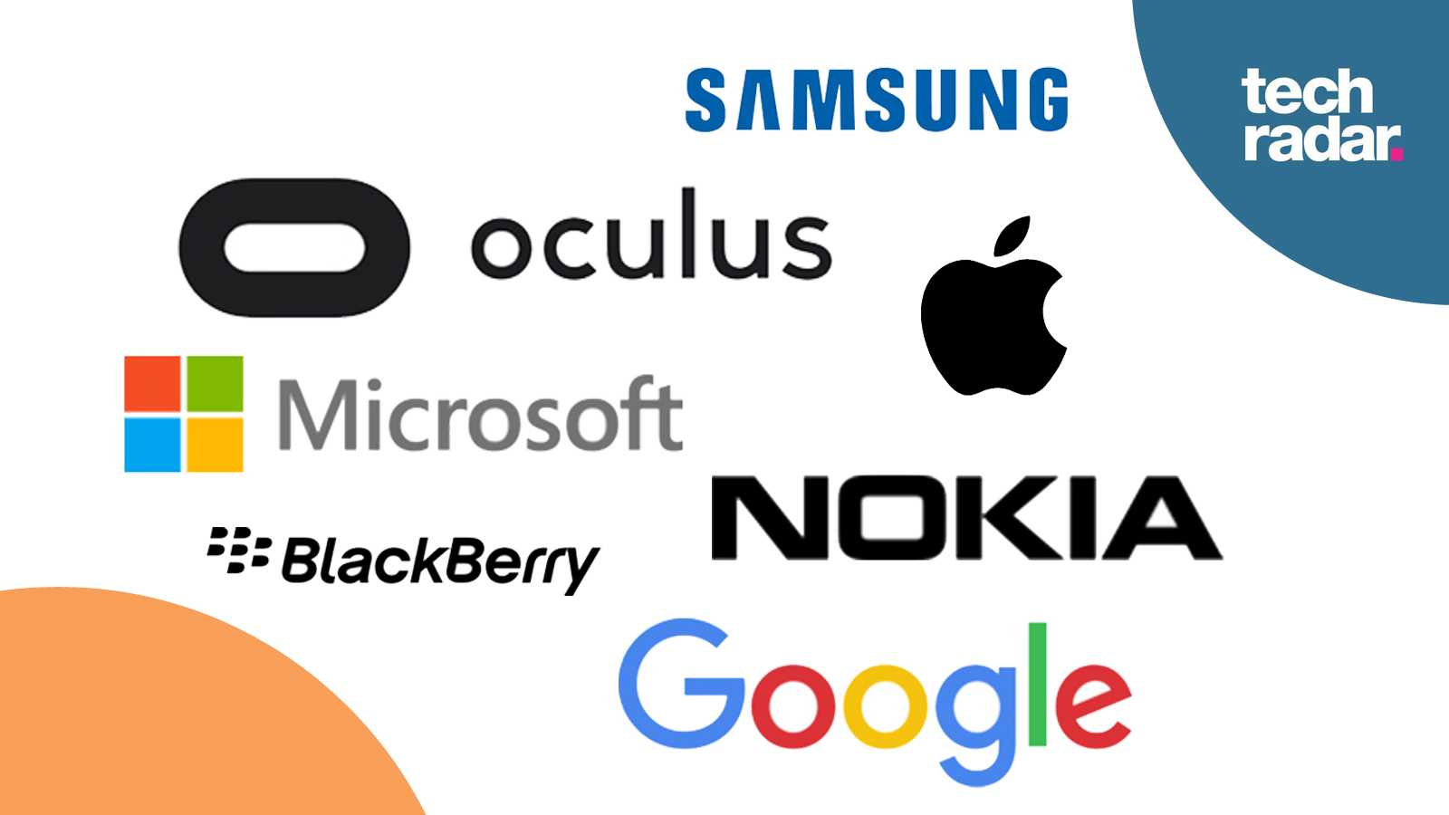 Tell us are these company logos cool or crap techradar thecheapjerseys Choice Image