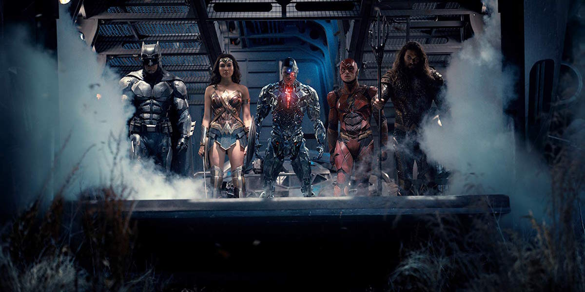 Justice League movie team