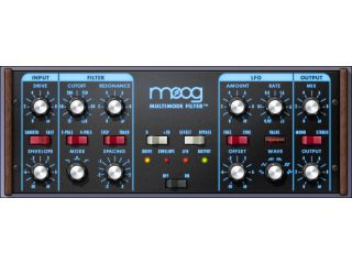 The new plug in certainly looks like a Moog filter