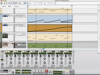 The sequencer in Reason 4 is much more powerful than the one in previous versions