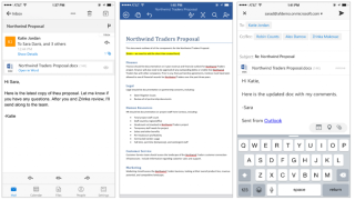Outlook for iOS updated