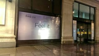 The all new HTC One officially teased in public