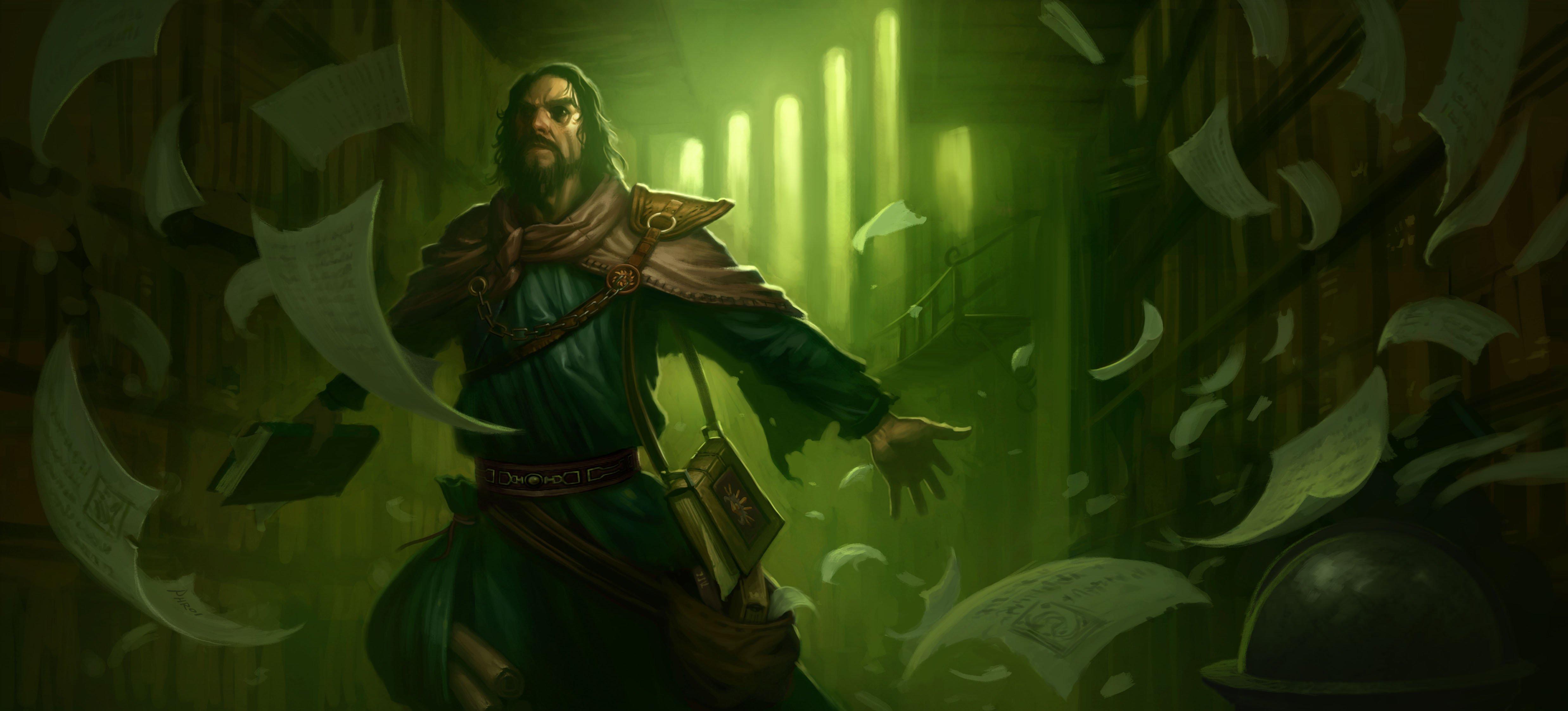 New Diablo III Class Revealed: The Archivist #6908