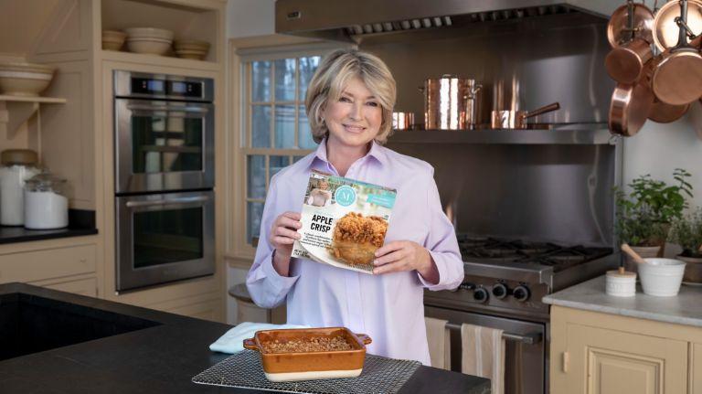 Martha Stewart Kitchen launches frozen food line.