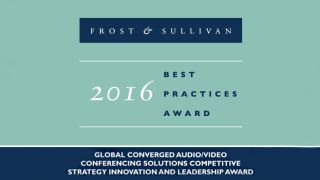 Frost & Sullivan Recognizes ClearOne for Converged Audio, Videoconferencing Innovation, Leadership