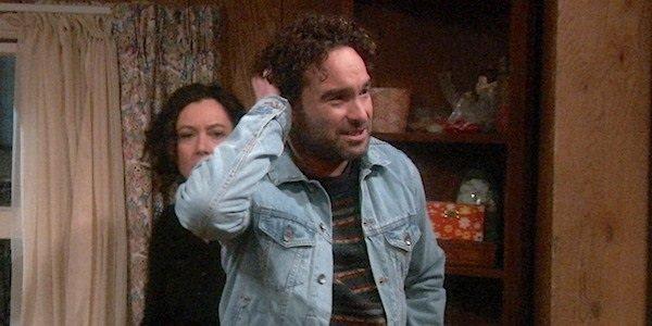 David Johnny Galecki Roseanne ABC