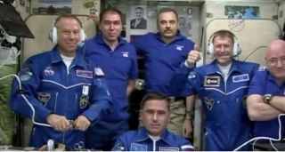 International Space Station Expedition 46 Crewmembers