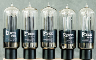 Elrog Valve models ER887, ER845, ER211, ER242 and ER284 (Left to Right)