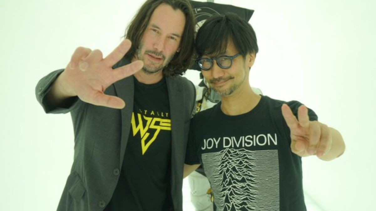 """""""In the future, I would like to offer something to Keanu"""": Kojima teases a breathtaking collaboration for his next project"""
