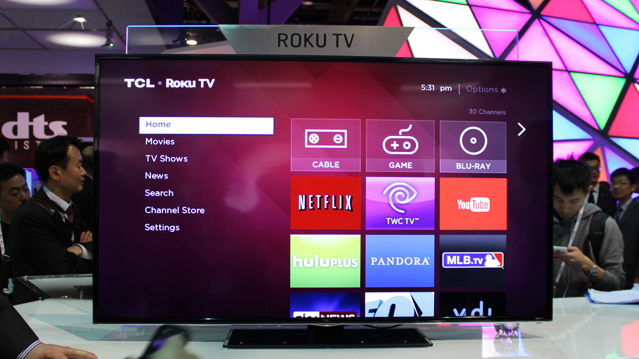 TCL Roku TV puts the most apps inside your television for a small