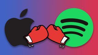 Apple vs Spotify fight