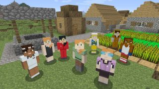 The other 50% of the human population is now represented in Minecraft